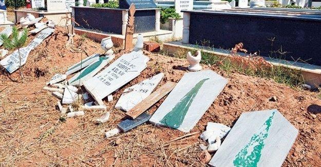 İzmir'de Alevi mezarlarına saldıranlar 6 aydır bulunamadı