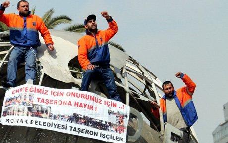 İzmir'de dünya emeğin oldu