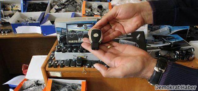 İzmir'de 2 bin 277 gizli kamera ele geçirildi