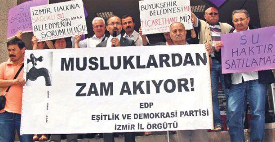 İzmir'de su zammı yine davalık