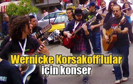 İzmir'de Wernicke Korsakoff'lular için konser