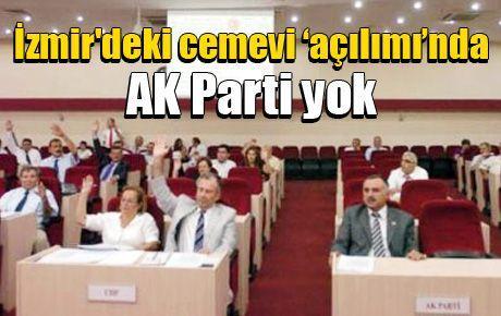 İzmir'deki cemevi 'açılımı'nda AK Parti yok