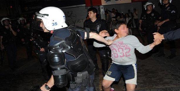 İzmir'deki çocuk bu sefer gözaltında