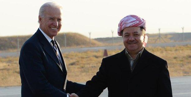 Joe Biden'dan Barzani'ye: Bütün özgür dünyanın umudusunuz