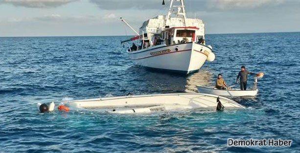 Datça'da mültecileri taşıyan tekne battı: 22 kişi öldü
