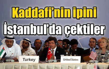 Kaddafi'nin ipini İstanbul'da çektiler