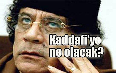 Kaddafi'yi bekleyen...