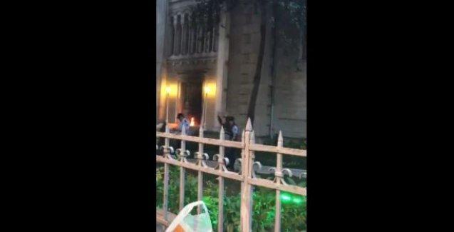 Kadıköy'de Aya Triada Kilisesi'ne saldırı