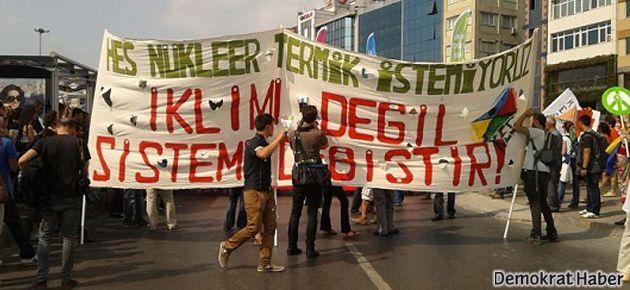 Kadıköy'de çevre mitingi