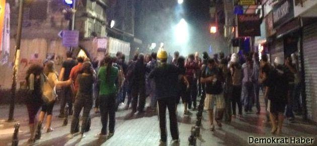 Kadıköy'de TOMA'lı gazlı müdahale