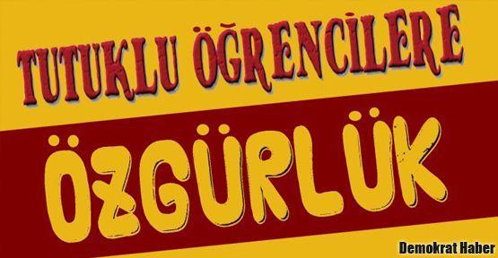 Kadıköy'de 'Tutuklu öğrencilere özgürlük' mitingi