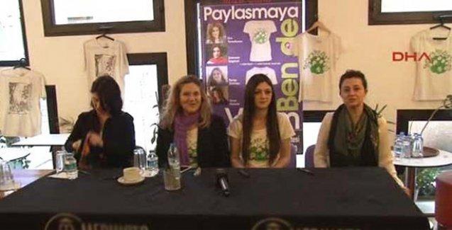 Kadın yazarlardan 'Paylaşmaya Ben De Varım' kampanyasına destek