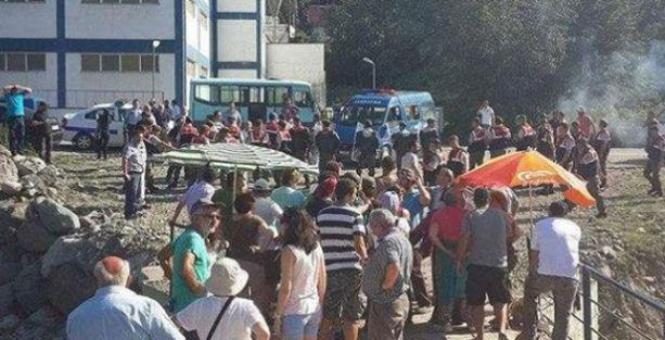 Kamilet Vadisi'nde HES nöbetine saldırı: 2 yaralı