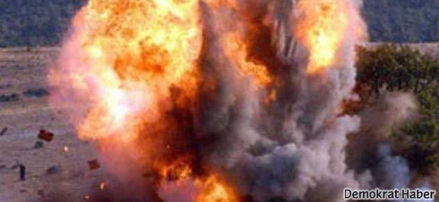 Kamışlı'da patlama: 1 ölü