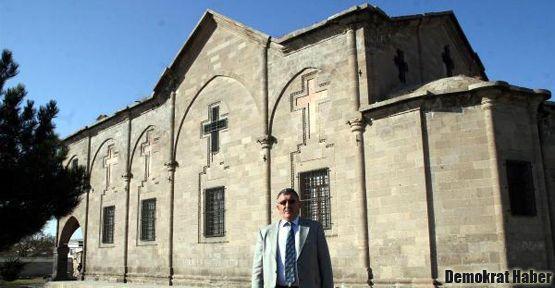 Kapadokya'nın en büyük kilisesi kaymakamlığın oldu