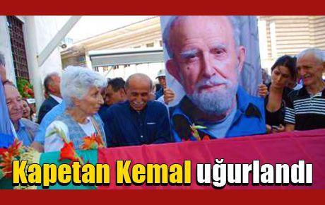 Kapetan Kemal uğurlandı