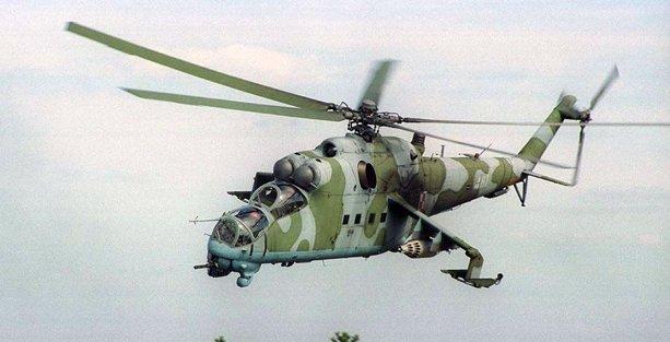 Karabağ'da düşürülen helikopter için operasyon