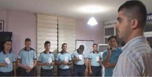 Sıraya dizilen polislere hapis, sıraya dizen AKP'li vekilin oğluna para cezası