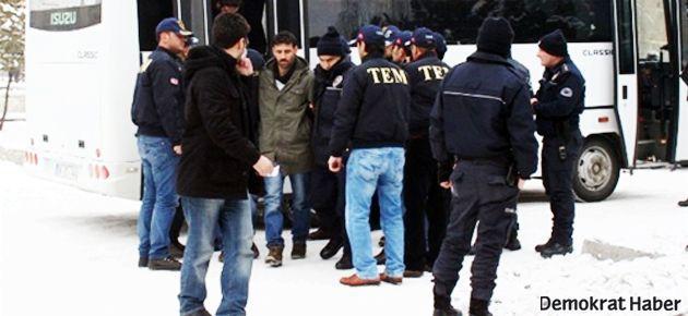 Kars'ta 11 öğrenci tutuklandı