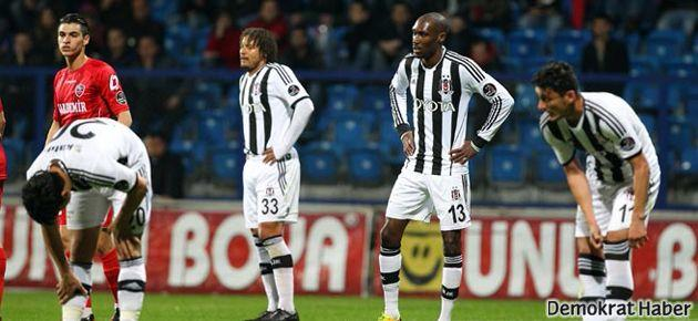 Karabükspor 1-0 Beşiktaş