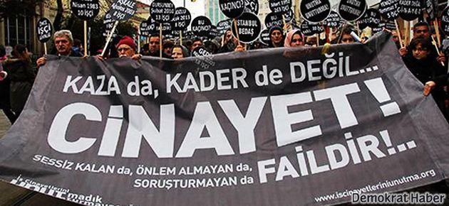 Kasım'da 128 işçi yaşamını yitirdi