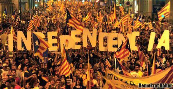 Katalanların bağımsızlık talebine gözdağı