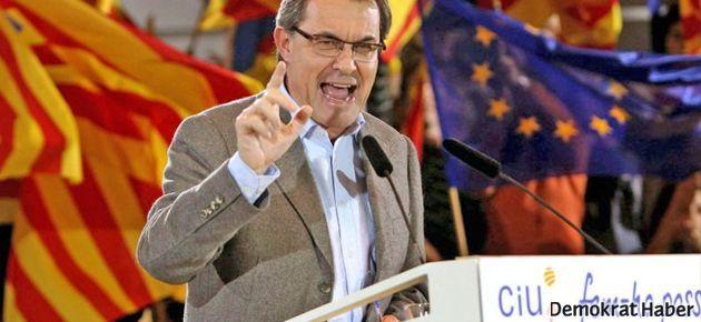 Katalonya bağımsızlığa yürüyor, İspanya engel olmaya çalışıyor!