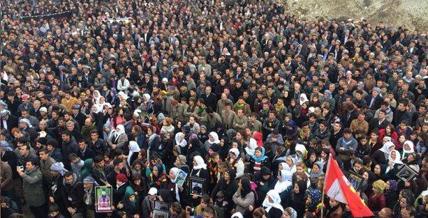 Katliamın yıldönümünde binlerce kişi Roboski'de