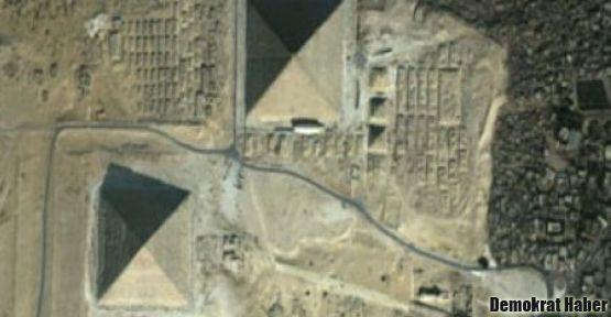 Kayıp piramitler ortaya çıktı