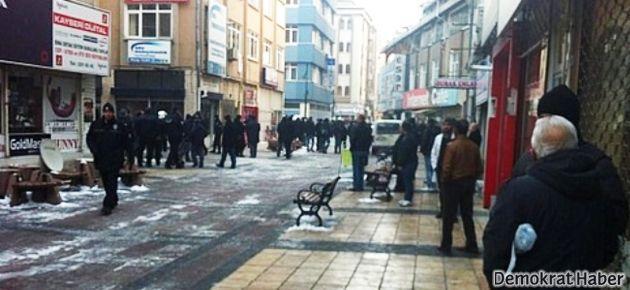 Kayseri'de HDP'ye saldırı