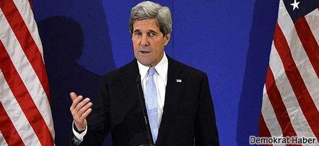 Kerry: Erdoğan'ın Gazze ziyareti ertelenmeli