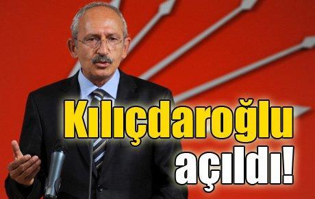 Kılıçdaroğlu açıldı…