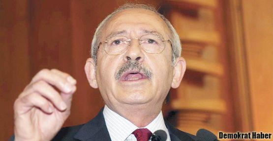 Kılıçdaroğlu: Dokunulmazlıkların daraltılmasına destek veririz