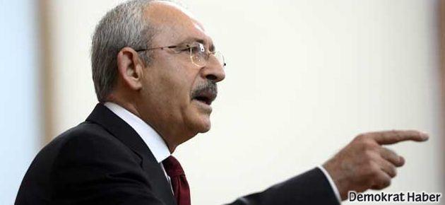Kılıçdaroğlu: Erdoğan! Sen Suriye için teröristbaşısın