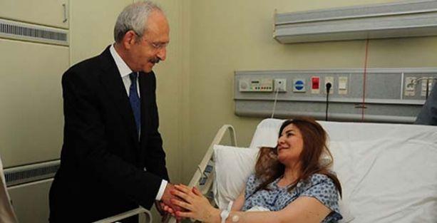 Kılıçdaroğlu, Viyan Daxil'i ziyaret etti