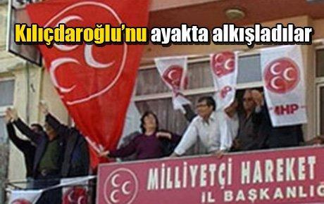 Kılıçdaroğlu'nu ayakta alkışladılar