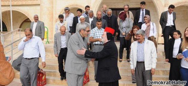 Kırklar Kilisesi'nden Kızıltepe Belediyesi'ne ziyaret