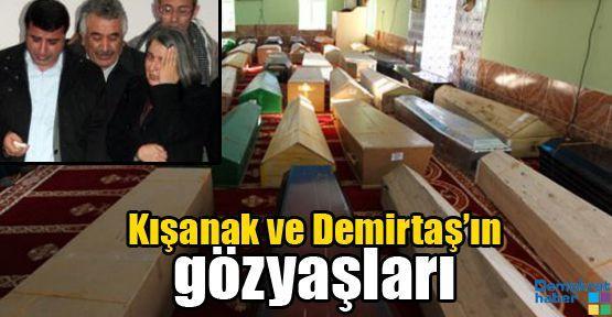 Kışanak ve Demirtaş'ın gözyaşları