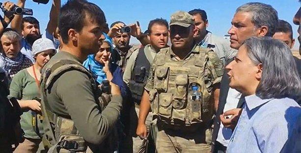 Kışanak'a 'Burası benim devletim çıkın dışarı' diyen komutana ödül!