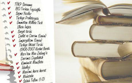 Kitap okuma listesi hazırlamak suç delili!