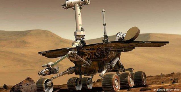 Kızıl Gezegen Mars'ta 'maraton koşuldu'