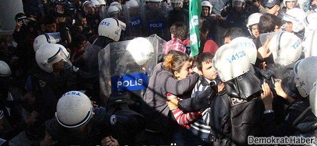 Kızılay'daki ODTÜ protestosuna çok sert müdahale