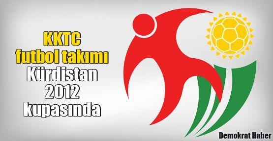 KKTC futbol takımı Kürdistan 2012 kupasında