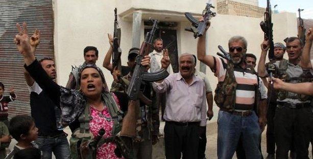 'Kobani direniyor düşmeyecek'
