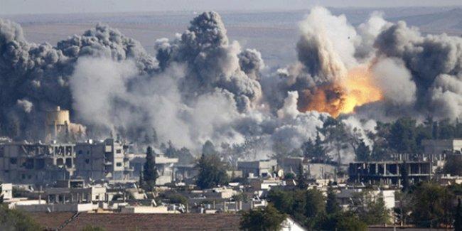 Kobani'de bomba yüklü kamyonla saldırı