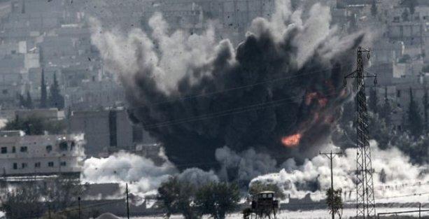 'Kobani'de en az 100 IŞİD militanı öldürüldü'