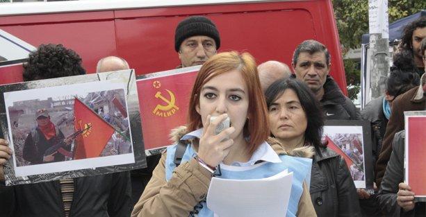 Kobani'de hayatını kaybeden Sibel Bulut için taziye çadırı