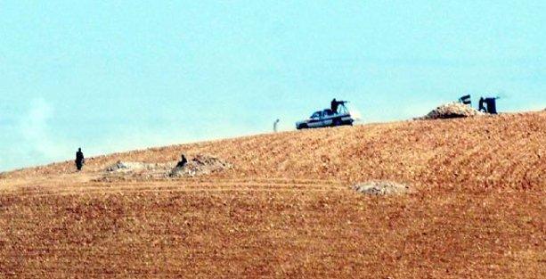 Kobani'de IŞİD saldırısına direnen YPG'lilere ÖSO desteği