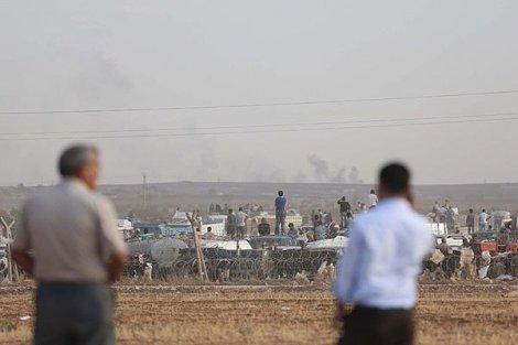 Kobani'de son 28 saatte 125 IŞİD militanı öldürüldü