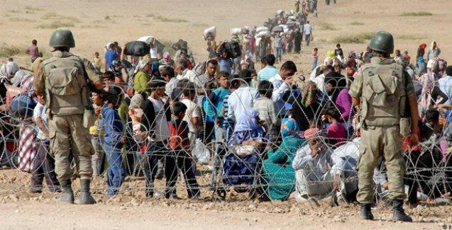 Kobani'den kaçarak Türkiye'ye sığınanların yüzde 35'i 17 yaşın altında